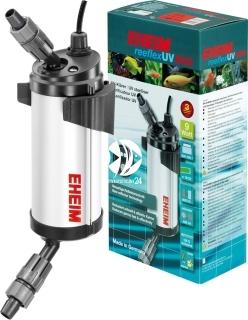 EHEIM ReeflexUV (3721210) - Efektywny sterylizator UV z wydajnym refleksem promieni ultrafioletowych do akwarium