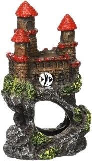 PENN PLAX Zamek Czerwony Mini 10cm (RRW5B) - Ozdoba akwariowa