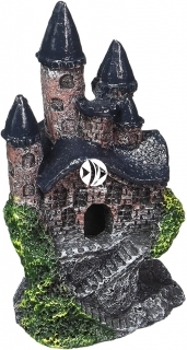 PENN PLAX Zamek Szary Mini 10cm (RRW5) - Ozdoba akwariowa