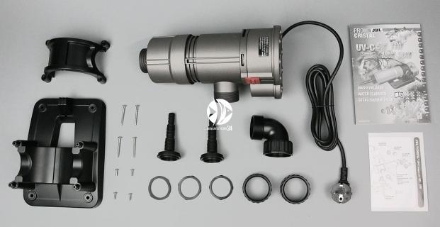 JBL ProCristal UV-C Compact Plus 5W (60394) - Sterylizator do szybkiego usuwania zmętnienia wody