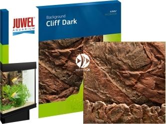 JUWEL (Uszkodzone) Tło Cliff Dark 60x55x3cm. (86941) - Tło płaskie imitujące ciemną ściankę skalną o wymiarach 60x55cm