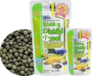 HIKARI Cichlid Excel Sinking Mini (14620) - Tonący pokarm dla pielęgnic i innych ryb roślinożernych