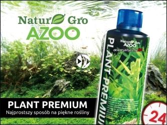 AZOO NATURE-GRO Plant Premium (NG11801) - Najbardziej kompletny, podstawowy nawóz do akwarium roślinnego.