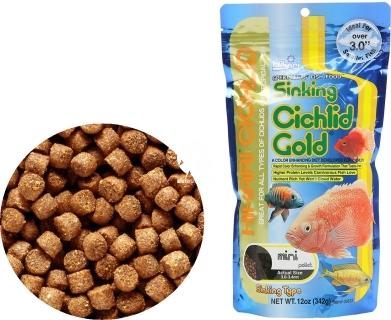 HIKARI Cichlid Gold Sinking (04620) - Tonący pokarm dla pielęgnic i innych ryb tropikalnych