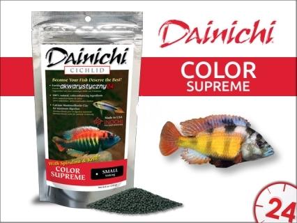 DAINICHI CICHLID Color Supreme Sinking (12301) - Silnie wybarwiający pokarm dla pielęgnic mięsożernych i wszystkożernych