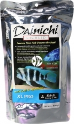 DAINICHI Cichlid XL Pro Sinking (12713) - Tonący pokarm dla solidnych ryb jak Frontosa, Haplochromis, czy pielęgnic z rejonu Ameryki Środkowej