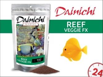 DAINICHI REEF VEGGIE FX (100g) baby | Pokarm Super Premium dla morskich ryb roślinożernych