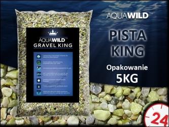 AQUAWILD PISTA KING [5kg] - Naturalny żwir do akwarium w kolorze pistacjowym