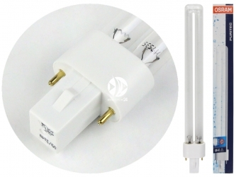 OSRAM Puritec HNS UV-C 9W - Promiennik, żarnik UV 9W do sterylizatora, trzonek G23