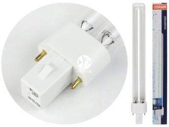 OSRAM Puritec HNS UV-C 11W - Promiennik, żarnik UV 11W do sterylizatora, trzonek G23