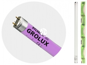 SYLVANIA Grolux T8 (0000043) - Świetlówka wzmacniająca wzrost roślin akwariowych