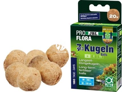 JBL 20 Kulek Nawozu (20111) - Nawóz pod korzenie roślin akwariowych.