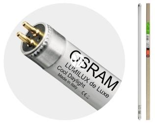 OSRAM Lumilux De Luxe T5 Ho (FQ 24/965) - Świetlówka podstawowa, dzienna 6500K o doskonałym współczynniku oddawania barw