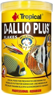 TROPICAL D-Allio Plus - Wieloskładnikowy pokarm z czosnkiem