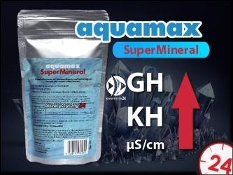 AQUAMAX SuperMineral 250g (031) - Mieszanka mineralna do zwiększania twardości, remineralizacji osmozy i innych miękkich wód.