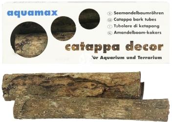 AQUAMAX Catappa Decor XL (027) - Rurka z kory migdałecznika morskiego XL do akwariów i terrariów