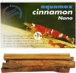 AQUAMAX Cinnamon Nano (015) - Niewielkie laski cynamonu do akwarium słodkowodnego, krewetkarium, zwiększające witalność i samopoczucie zwierząt akwariowych