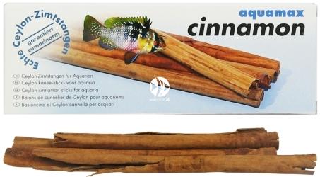 AQUAMAX Cinnamon (014) - Laski cynamonu do akwarium słodkowodnego, krewetkarium, zwiększające witalność i samopoczucie zwierząt akwariowych
