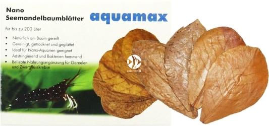 AQUAMAX Nano-Seemandelbaumblätter (008) - Liście migdałecznika morskiego Nano, 10 sztuk