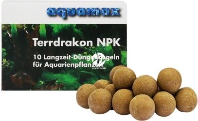 AQUAMAX Terrdrakon NPK 10 sztuk (009) - Doskonała glina do stosowania w akwarium