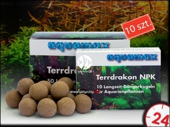 AQUAMAX TERRDRAKON NPK 10 sztuk - Doskonała glina dla Twojego akwarium