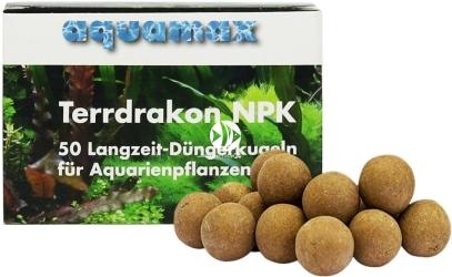 AQUAMAX Terrdrakon NPK 50 sztuk (010) - Doskonała glina do stosowania w akwarium
