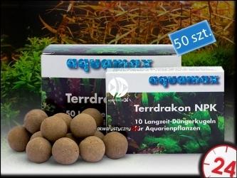 AQUAMAX TERRDRAKON NPK 50 sztuk (010) - Doskonała glina dla Twojego akwarium