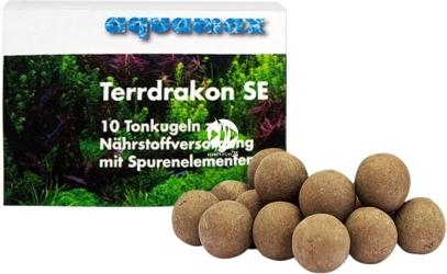 AQUAMAX Terrdrakon SE 10 sztuk (011) - Doskonała glina do stosowania w akwarium