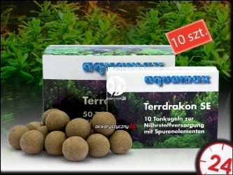 AQUAMAX TERRDRAKON SE 10 sztuk - Doskonała glina dla Twojego akwarium