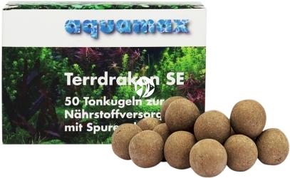 AQUAMAX Terrdrakon SE 50 sztuk (012) - Doskonała glina do stosowania w akwarium