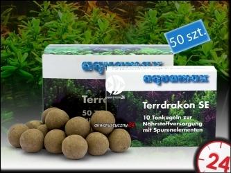 AQUAMAX TERRDRAKON SE 50 sztuk - Doskonała glina dla Twojego akwarium