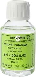 Hydromet Roztwór buforowy pH 7 100 ml (SB07-10M) - Płyn do kalibracji sond pH