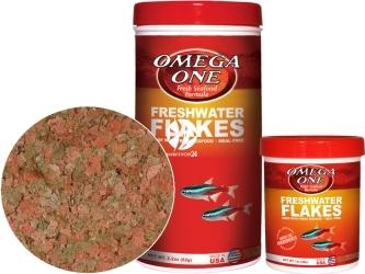 OMEGA ONE Freshwater Flakes (01211) - Pokarm w płatkach dla ryb słodkowodnych