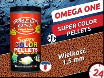 OMEGA ONE SUPER COLOR PELLETS [Small, Sinking]