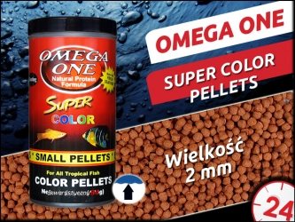 OMEGA ONE SUPER COLOR PELLETS [Small, Floating]