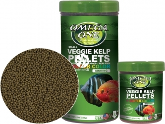 OMEGA ONE Super Color Kelp Pellets Sinking (83321) - Tonący pokarm wybarwiający w granulacie