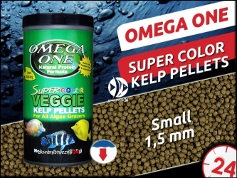 OMEGA ONE SUPER COLOR KELP PELLETS [Small, Sinking]