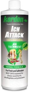 KORDON Ich Attack (39444) - Ziołowy preparat leczniczy na choroby wywoływane przez pierwotniaki