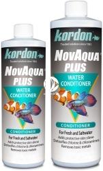 KORDON NovAqua Plus (33144) - Preparat zalecany podczas zakładania akwarium, stawu czy wymiany wody