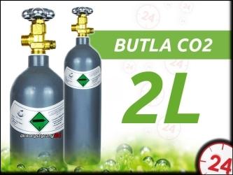 akwarystyczny24 Butla Co2 2L [Szara]