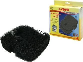 SERA Gąbka czarna (30631) - Komplet 2 czarnych gąbek filtracyjnych do Filtra BioActive 130/ 130+UV