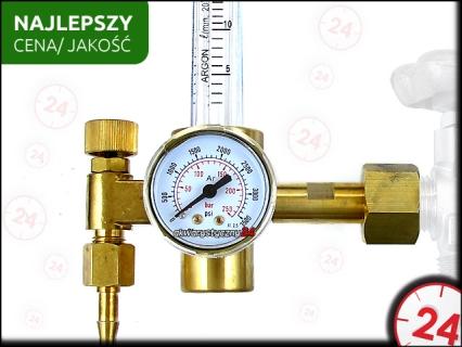 TECHNIKA CO2 Reduktor Co2 z Rotametrem - Precyzyjnie reguluje ilość podawanego CO2 do akwarium.