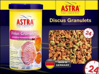 ASTRA-aquaristik Discus-Granulets 1000ml - Pokarm dla dyskowców i szczególnie wrażliwych ryb akwariowych.