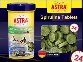 ASTRA-aquaristik Spirulina Tablets - Tabletki ze spiruliną dla glonojadów, sumów, bocji i innych pożeraczy glonów.