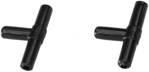 EBI Trójnik na wąż 6/4mm (2 sztuki) (223-103135) - Rozdzielenie powietrze z pompki napowietrzającej na dwa wyjścia