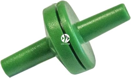 EBI Zaworek Zwrotny na wąż 6/4mm (223-103319) - Zapobiega cofaniu się powietrza i wody z akwarium.