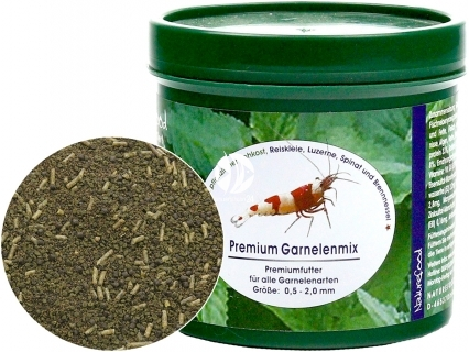 NATUREFOOD Premium Garnelenmix (34110) - Tonący pokarm dla wszystkich krewetek