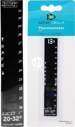 AQUA DELLA Termometr Naklejany LCD (227-103906) - Skala 20-32 stopni Celsjusza