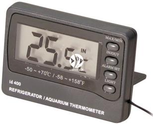 EBI Termometr Elektroniczny z Alarmem (227-103883) - Umożliwia programowanie temperatury minimalnej i maksymalnej