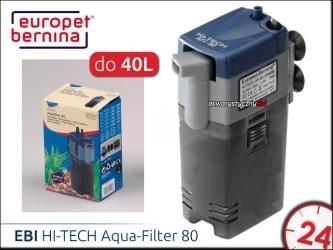 EBI HI-TECH Aqua-Filter 80 [261-111147] | Filtr wewnętrzny do akwarium 20-40L
